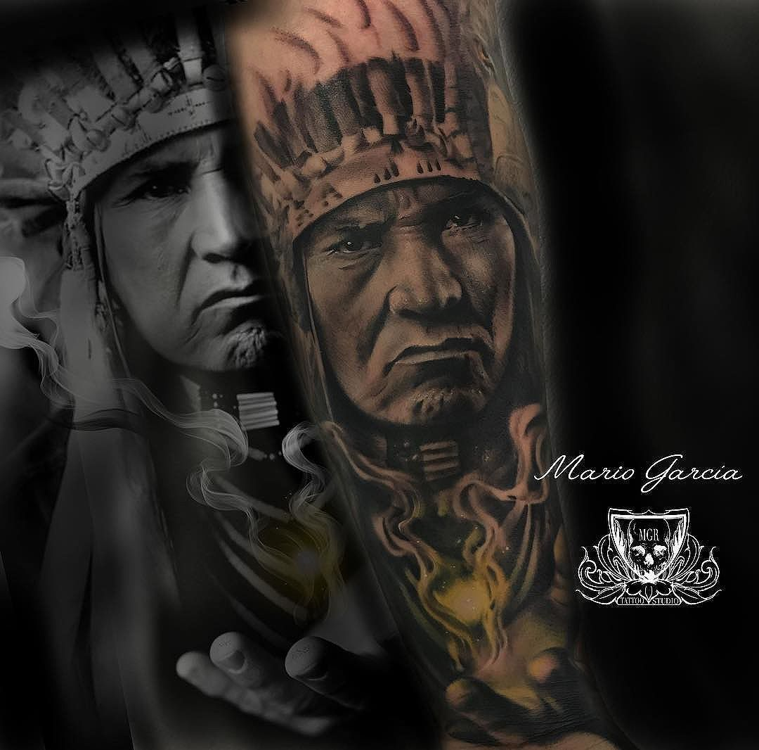 Indian Amazing artwork by Mario Garcia  Gracias...